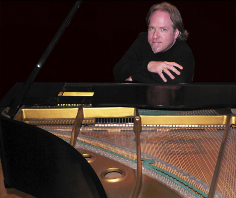 Photo of Jeff Nations at the Piano